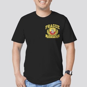 Prague Czech Republic Men's Fitted T-Shirt (dark)