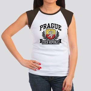 1e30c3346b558 Prague Czech Republic Women s Cap Sleeve T-Shirt