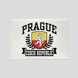 Prague Czech Republic Rectangle Magnet