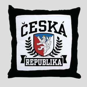 Ceska Republika Throw Pillow