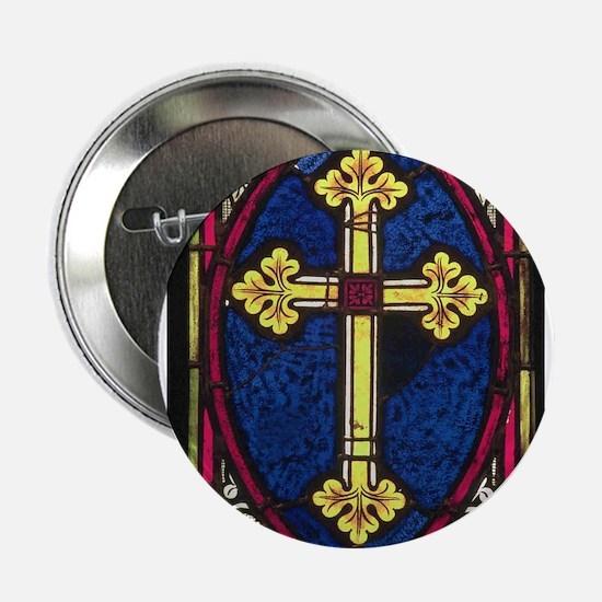 Cross design Button