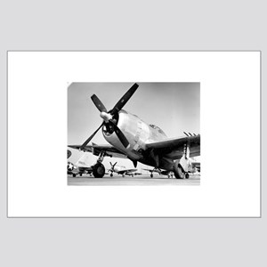 P-47 Ready To Go Large Poster