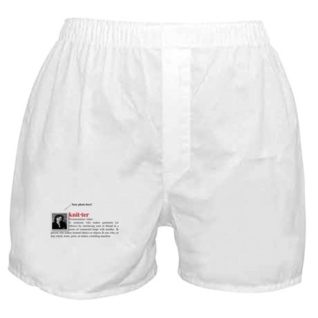 Definition of a Knitter Boxer Shorts