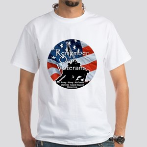 MEMORIAL DAY White T-Shirt
