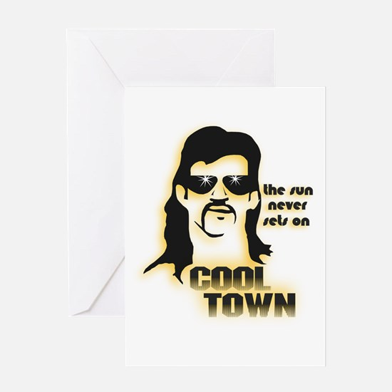 Cool Town (Y) Greeting Card