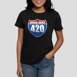 High-Way 420 Women's Dark T-Shirt