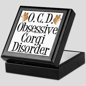 Corgi Obsessed Keepsake Box