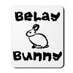 Belay Bunny Mousepad