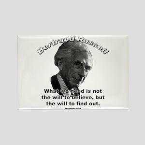 Bertrand Russell 02 Rectangle Magnet