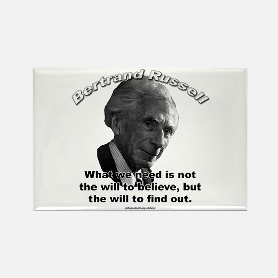 Bertrand Russell 02 Rectangle Magnet
