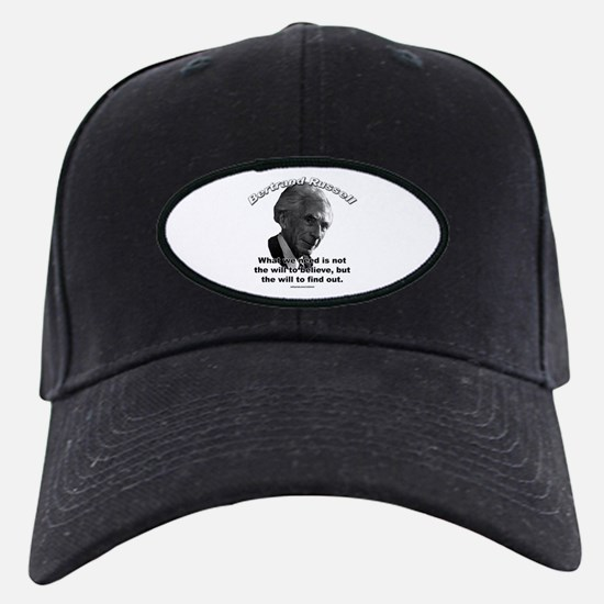 Bertrand Russell 02 Baseball Hat