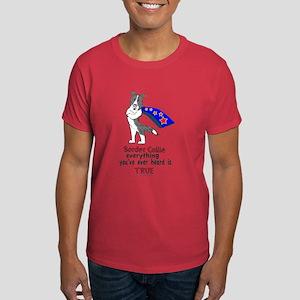Super Border Collie blue merle Dark T-Shirt