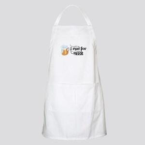 I run for Beer Apron