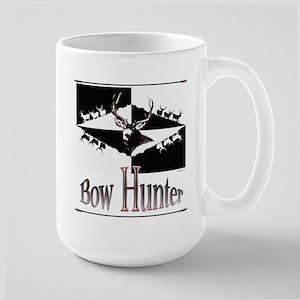 Bow hunter Large Mug