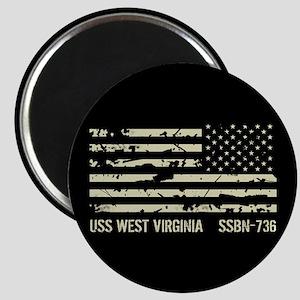 USS West Virginia Magnet