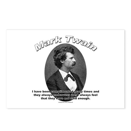 Mark Twain 01 Postcards (Package of 8)
