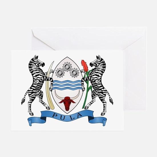 Botswana Coat of Arms Greeting Card