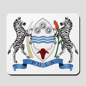 Botswana Coat of Arms Mousepad