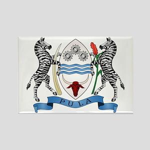 Botswana Coat of Arms Rectangle Magnet
