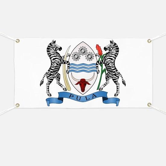 Botswana Coat of Arms Banner