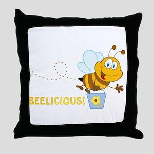 BEElicious Throw Pillow
