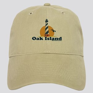 Oak Island NC - Lighthouse Design Cap