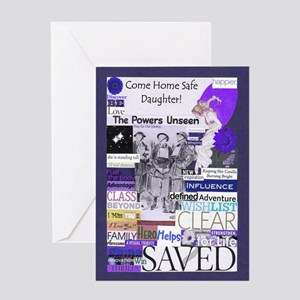 Come Home Daughter Greeting Card