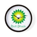 bp Wall Clock