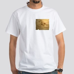Saint Bernard White T-Shirt