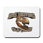 Bus Driving Old Timer Mousepad