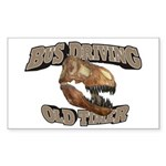 Bus Driving Old Timer Sticker (Rectangle 50 pk)