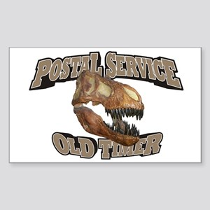 Postal Service Old Timer Sticker (Rectangle)
