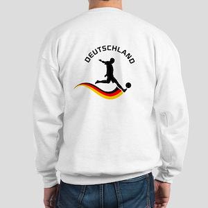 Soccer DEUTSCHLAND with back print Sweatshirt