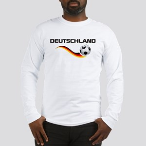 Soccer DEUTSCHLAND with back print Long Sleeve T-S