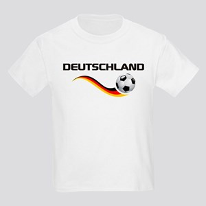 Soccer DEUTSCHLAND with back print Kids Light T-Sh