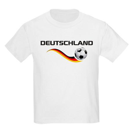 Soccer DEUTSCHLAND with back print Kids Light T-Sh