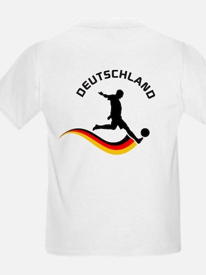 Soccer DEUTSCHLAND with back print T-Shirt