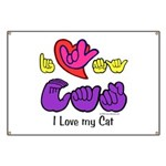 I-L-Y My Cat Banner