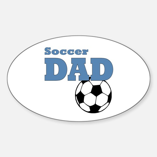 Soccer Dad: Sticker (Oval)