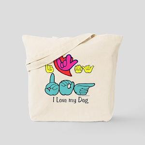 I-L-Y My Dog Tote Bag
