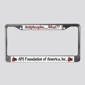 Antiphospho....what? License Plate Frame