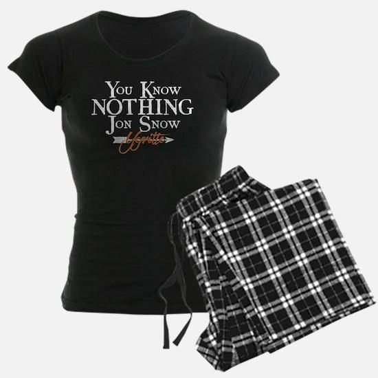 GOT You Know Nothing Jon Snow Pajamas