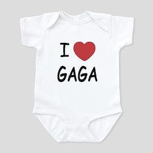 I heart gaga Infant Bodysuit