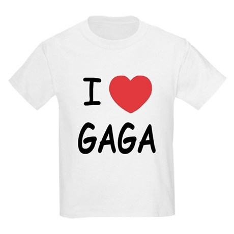 I heart gaga Kids Light T-Shirt
