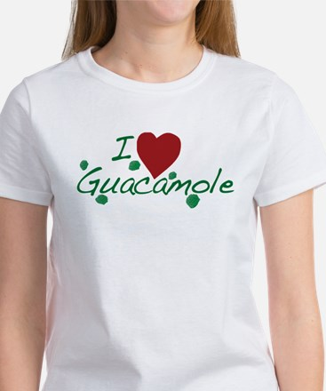 I Love Guacamole Women's T-Shirt