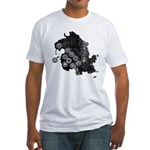 Dharma Station Identification Fitted T-Shirt