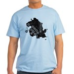 Dharma Station Identification Light T-Shirt
