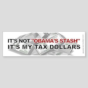 Not Obama's Stash, Sticker (Bumper)