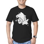Dharma Station Identification Men's Fitted T-Shirt