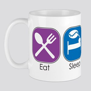 Eat Sleep Bead Mug